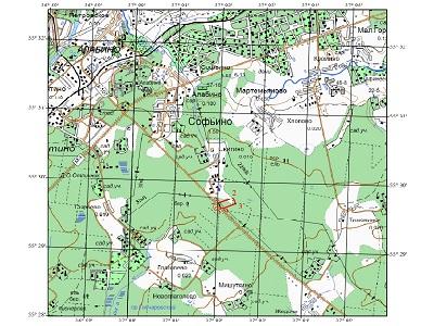 Топографический план участка предстоящей застройки