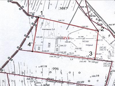 Схема расположения земельного участка на КПТ